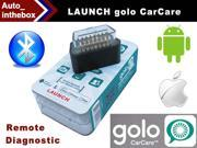 Launch Golo CarCare for IOS & Android Cell Phone Device