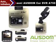 "aoni AUSDOM A750 Full HD 2560*1080P Car DVR Video Recorder Digital Car Camera Dash Cam Vehicle DVR - 2.0"" inch TFT LCD, 150 degrees, Ambarella Chipset,Night Vision, Built in G-sensor"