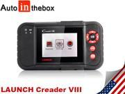 Launch Creader Viii Code Reader 8 Automotive Scan System Same Function of Launch Crp 129 (Engine,Transmission, ABS, and Airbag)