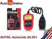 Autel AutoLink AL301 OBDII/CAN Auto Code Reader