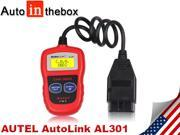 Autel AutoLink AL301 OBDII/CAN Auto Code Reader  powerful affordable easiest-to-use tool for DIY customers