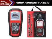 AUTEL AutoLink AL619 ABS/SRS + CAN OBDII DIAGNOSTIC TOOL with TFT color display