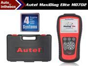 Original AUTEL MaxiDiag Elite MD702 4 System + DS + EPB + OLS Models Diagnostic European vehicles Online Update