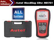 Original AUTEL MaxiDiag Elite MD701 ALL System + DS + EPB + OLS Models Diagnostic Asia vehicles Online Update