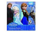 Disney Frozen Lenticular Puzzle 48 Piece