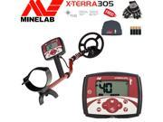 Minelab X-Terra 305 Adventure Special Bundle with Free Cap, Gloves and Batteries