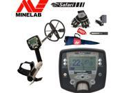 Minelab Safari Treasure Special Bundle with Free Gloves, Carrybag, Battery and Charger