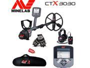 Minelab CTX 3030 Underwater Discoveries Special Bundle with Free Gloves and Carrybag