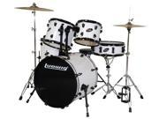 Ludwig Accent Fuse White 5-Piece Drum Set