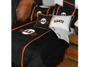 MLB San Francisco Giants Baseball Team 4pc Twin Bedding Set