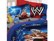 WWE Wrestling Champions 4pc John Cena Full Bed Sheet Set