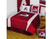 NHL Colorado Avalanche Hockey 5pc Full-Double Bedding Set