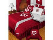 NCAA Texas AM Aggies College Twin-Single Bed Comforter Set