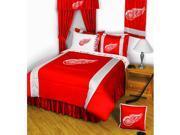 NHL Detroit Red Wings Hockey Full-Double Bedding Set