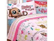 Littlest Pet Shop Animals Lane Full Bedding Sheets Set