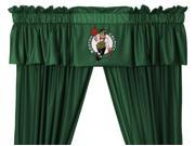 NBA Boston Celtics 5pc Long Curtain-Drapes Valance Set