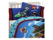 4pc Super Mario Race Is On Full Bedding Sheet Set