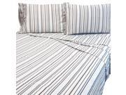 Bentley Twin Bed Sheet Set Striped Bedding Accessories