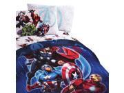 Marvel Avengers Twin Bedding Set Superheroes Suit Up Bed