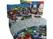 Marvel Avengers Full Bed Sheet Set Superhero Halo Bedding