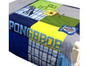 Spongebob Squarepants Full-Queen Quilt Set Patches Bedding