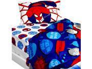 Bold Spiderman Twin Bedding Set Marvel Comforter Sheets