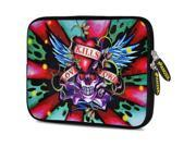 Amzer 7.5-Inch Designer Neoprene Sleeve Case Pouch for Tablet, eBook, Netbook - Love Hardy