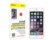 Amzer Kristal Tempered Glass HD Edge2Edge White Screen Protector for iPhone 6  (Fit All Carriers)