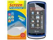 Amzer Super Clear Screen Protector with Cleaning Cloth for LG Xenon GR500