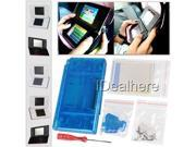 Clear blue Full Housing Shell Skin Repair Parts Case for Nintendo NDSL NDS Lite