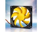 90mm Computer PC Case CPU Ultra Silent Fan Cooler Heatsink Exhaust 18dBA