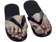 Zombie Crazy Feet Sandals Costume Shoes