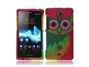 Sony Xperia Z Hard Case Cover - Blue Aztec