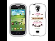 Samsung Stratosphere 2 I415 Hard Case Cover - Corinthians 13-4