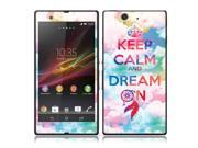 Sony Xperia Z Vinyl Decal Sticker - Keep Calm Dream On