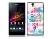 Sony Xperia Z C6603 C6606 Back Cover Case - Keep Calm Dream On