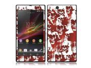 Sony Xperia Z Vinyl Decal Sticker - Blood Skulls