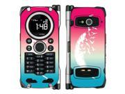 Casio Gzone C741 Brigade Vinyl Decal Sticker - Pink And Blue Birds Of A Feather