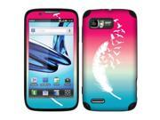 Motorola Atrix 2 MB865 Vinyl Decal Sticker - Pink And Blue Birds Of A Feather