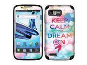 Motorola Atrix 2 MB865 Vinyl Decal Sticker - Keep Calm Dream On