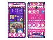 HTC Windows Phone 8X Zenith 6990 Vinyl Decal Sticker - Aztec Forever Young