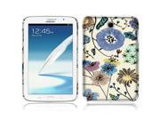 Samsung Galaxy Note 8.0 N5110 Kona Back Cover Case - Garden Flowers