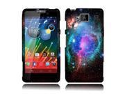 Motorola Droid Razr Maxx HD XT926M Hard Case Cover - Clash of Cosmo Galaxy 2D Glossy
