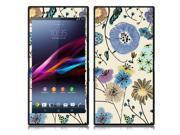 Sony Xperia Z Ultra Togari C6802 C6806 C6833 Vinyl Decal Sticker - Garden Flowers
