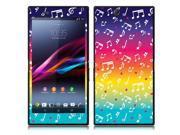 Sony Xperia Z Ultra Togari C6802 C6806 C6833 Vinyl Decal Sticker - Love Multicolor Music