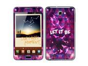 Samsung Galaxy Note N7000 I717 I9220 Vinyl Decal Sticker - Triangle Let It Be