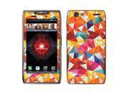 Motorola Droid Razr Maxx XT913 XT916 XT912M Vinyl Decal Sticker - Kaleidoscope