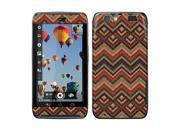 Motorola Atrix 3 Dinara HD MB886 Vinyl Decal Sticker - Cloth Wool Aztec Patterns