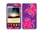 Samsung Galaxy Note N7000 I717 I9220 Vinyl Decal Sticker - Couple Pink Cat