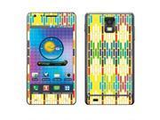 Samsung Infuse 4G I997 Vinyl Decal Sticker - Metallic